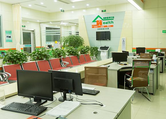 安居医院智能公共卫生服务大厅―健康小屋安装完毕